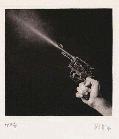 Robert Mapplethorpe, 'Season in Hell: Gun', 1986