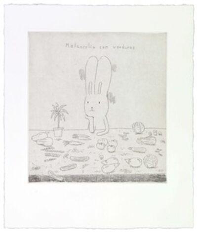 Atsushi Kaga, 'Melancolia con verduras', 2014