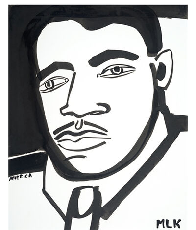 America Martin, 'Martin Luther King Jr. No. 8', 2021