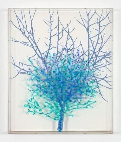 Charles Gaines, 'Numbers and TreesII, #2 Judd', 1987