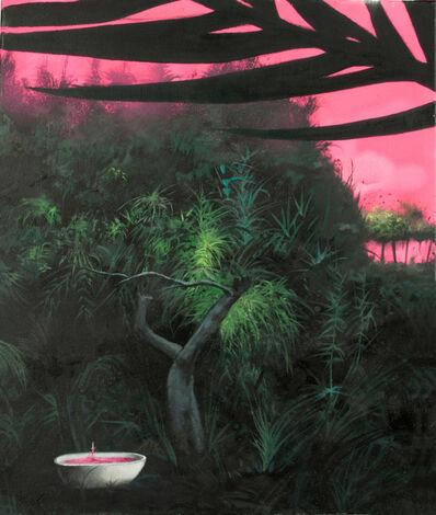 José Enguídanos, 'Un baño en el bosque', 2015