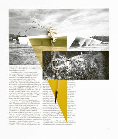 Sergio Vega, 'Interventions on a book (crocodile's teeth)', 2016