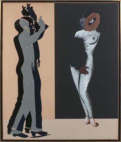 Eduardo Arroyo, 'La nuit espagnole', 1985