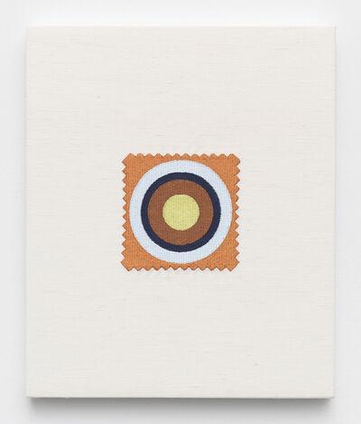Elaine Reichek, 'Swatch, Noland', 2006