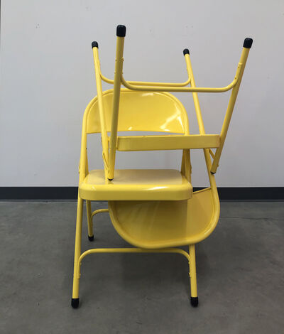 Sylvan Lionni, 'Stack (yellow chair)', 2021