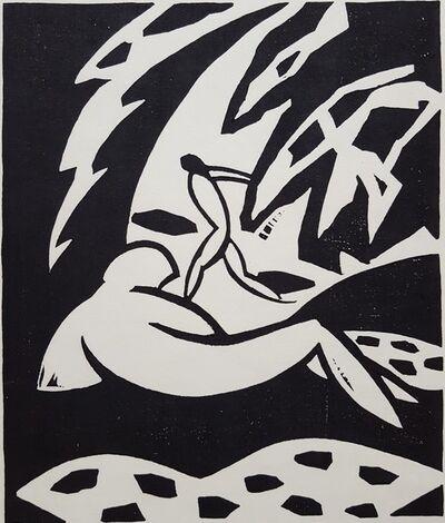 Kyoshi Hasegawa, 'Afternoon of a Faun', ca. 1983