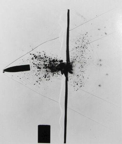 Dr. Harold Eugene Edgerton, 'Bullet through Plexiglass, from Seeing the Unseen', 1963-printed circa 1978
