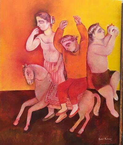 Sakti Burman, 'Celebration ', 2018
