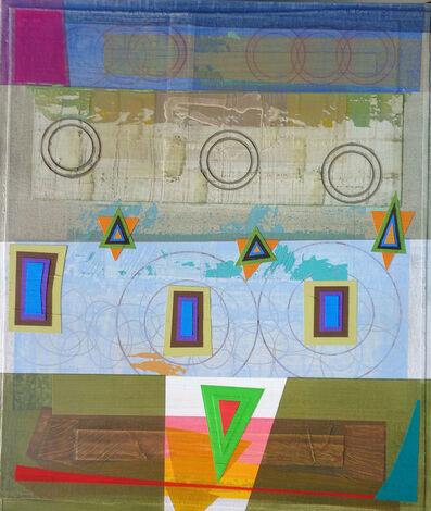 Michael Barringer, 'Bloomstone Fragment (Triad Geometries)', 2018