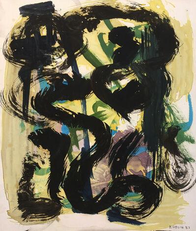Richard Roblin, 'Jazz', 1983
