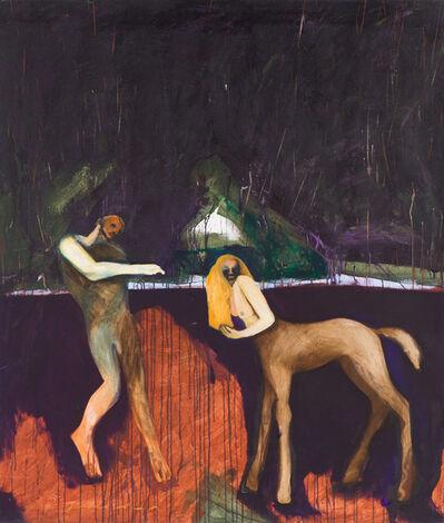 Fritz Scholder, 'Millennium #4', 1997