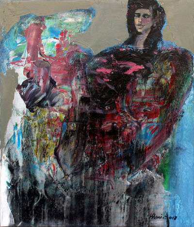 Khalid El-Khani, 'Black & Blue', 2018