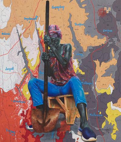 Jean David Nkot, 'BP.4734 Woman Hardens.', 2019