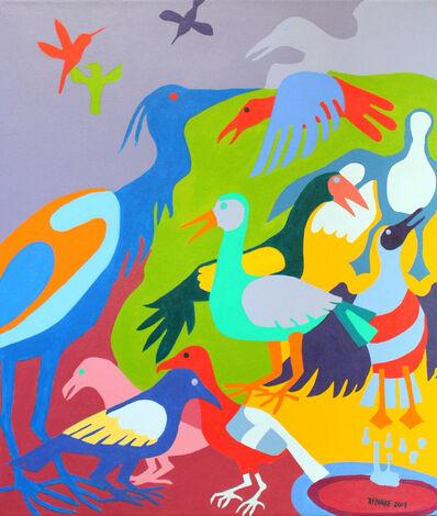Robert Burke, 'Visiting Birds', 2019