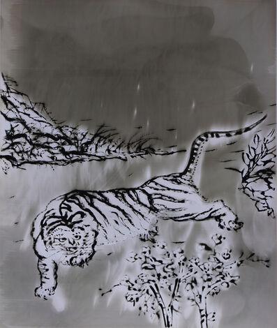 Sun Yanchu, 'White Tiger', 2018