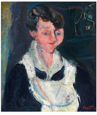 Chaim Soutine, 'Jeune Servante (Waiting Maid, also known as La Soubrette)', 1933