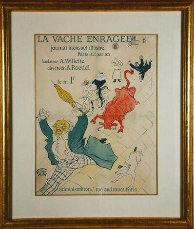 Henri de Toulouse-Lautrec, 'La Vache Enragee', ca. 1896