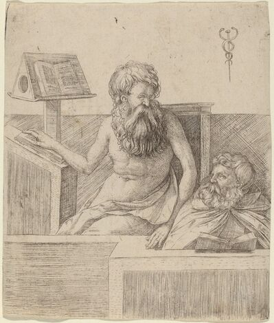 Jacopo de' Barbari, 'Two Philosophers', ca. 1509