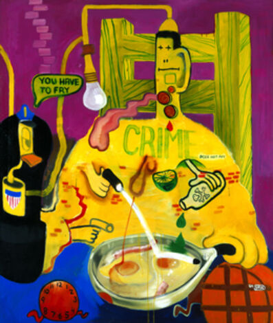 Peter Saul, 'Criminal Being Executed', 1964