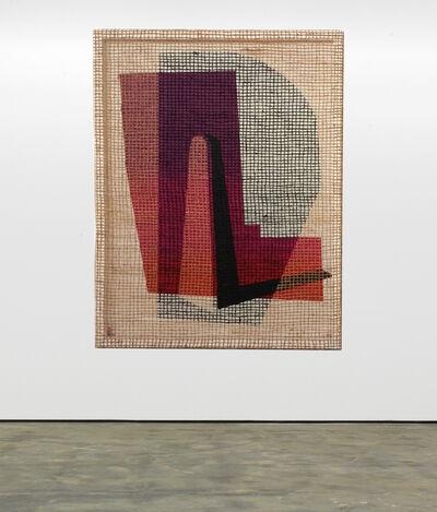 """David Renggli, '""""Floorplan Desire Painting (Left/Center)""""', 2016"""
