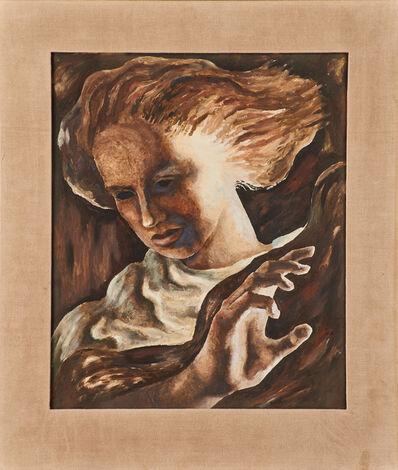 """Guillermo Meza, '""""Retrato De L. M. F.""""'"""