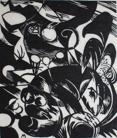 Franz Marc, 'Creation I | Schöpfungsgeschichte I', 1914