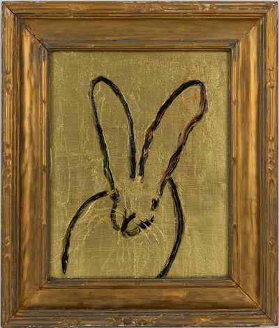 Hunt Slonem, 'Bunny in Gold', 2021