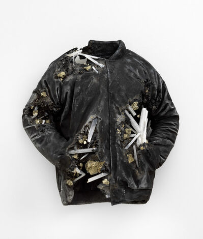 Daniel Arsham, 'Pyrite and Ash Eroded Lakers Jacket', 2019