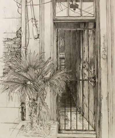 Shirley Rabe' Masinter, 'Door and Palm'