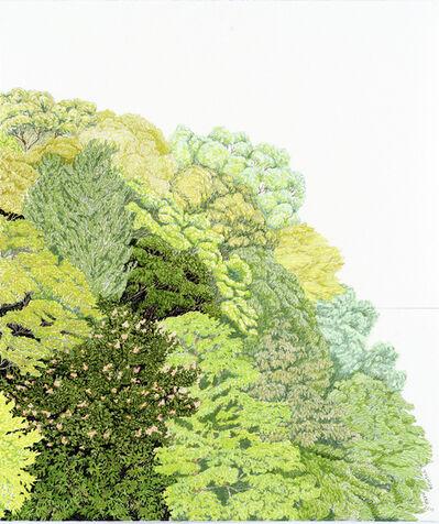 Kana Kou, 'Face to the Green 6', 2011