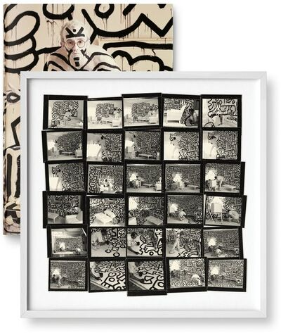 Annie Leibovitz, 'Annie Leibovitz, Keith Haring (contact sheet), New York City, 1986', 2014