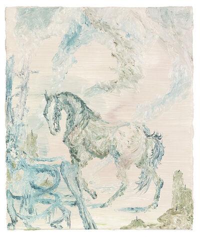 Jan Eustachy Wolski, 'A Horse According to Riddinger', 2020