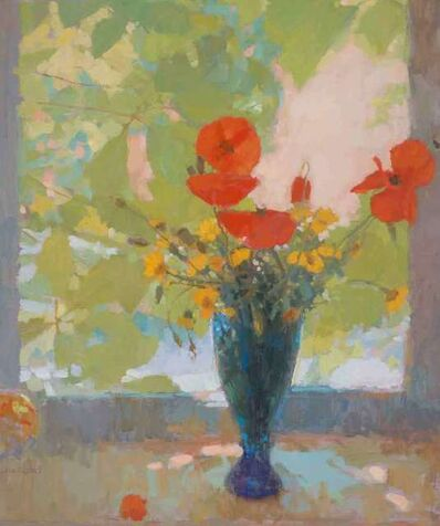 Nicholas Verrall, 'Poppies by the Window', 2018
