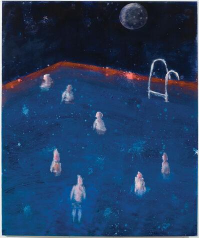 Katherine Bradford, 'Pool, Red Rim', 2017