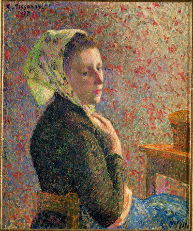 Camille Pissarro, 'Femme au Fichu Vert (Woman with Green Scarf)', 1893