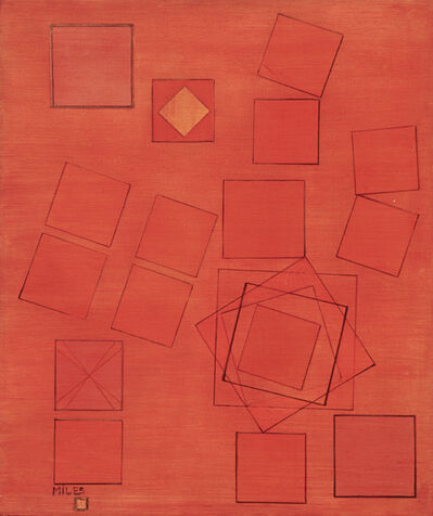 Jeanne Miles, 'Musical Squares', 1953