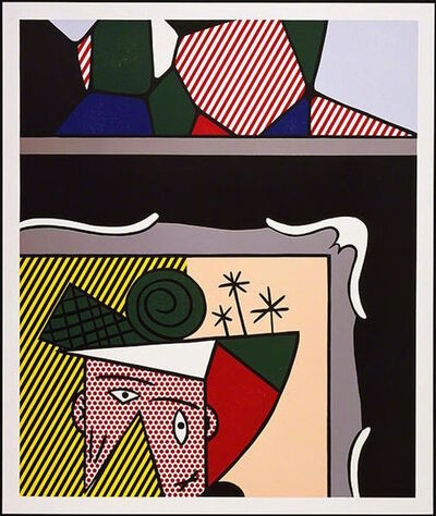 Roy Lichtenstein, 'Two Paintings, from Paintings', 1984