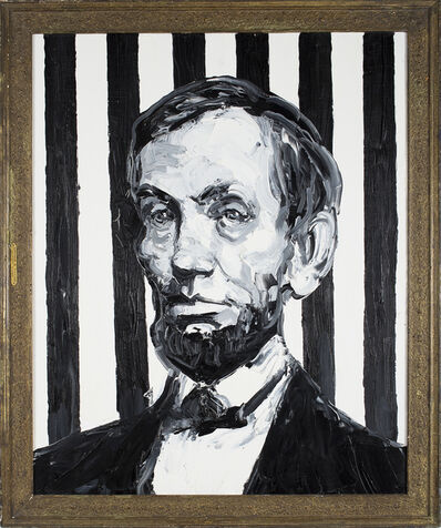 Hunt Slonem, 'Abraham Lincoln', 2013