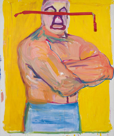 Stephen Lack, 'Mil (Mil Mascaras /The Wrestler)', 1984