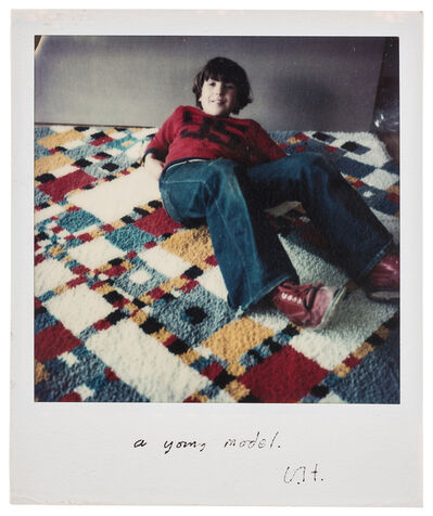 David Hockney, 'A Young Model', 1977