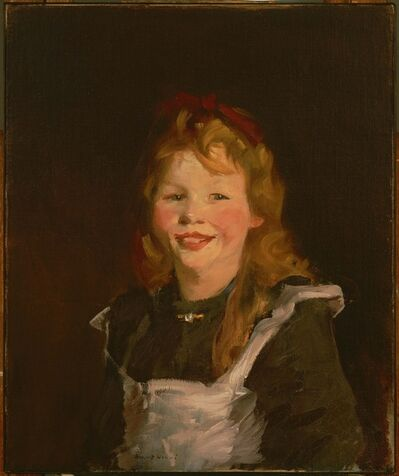 Robert Henri, 'Dutch Girl', 1910; reworked 1913 and 1919