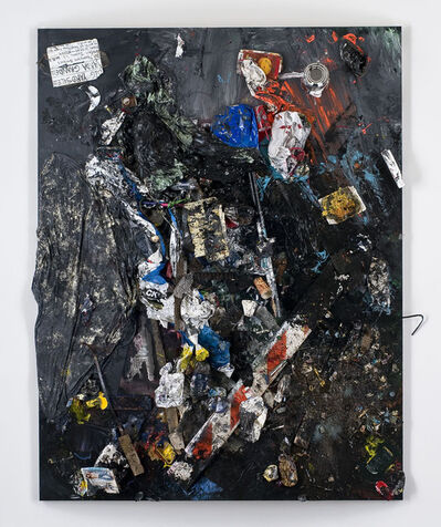 """Dan Colen, '""""She doesn't want to talk about love she says she just wants to make love but she talks about it almost endlessly""""', 2011"""