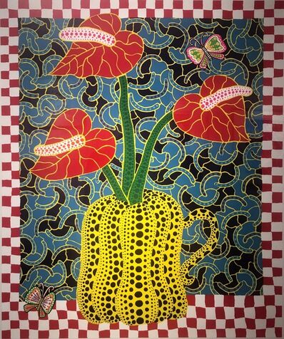 Yayoi Kusama, 'Flower and Butterflies', 1989