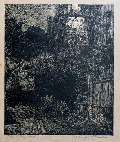 Miles Evergood, 'The Alleyway', 1891