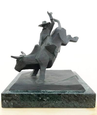"""Ed Mell, '""""Bull Rider""""'"""