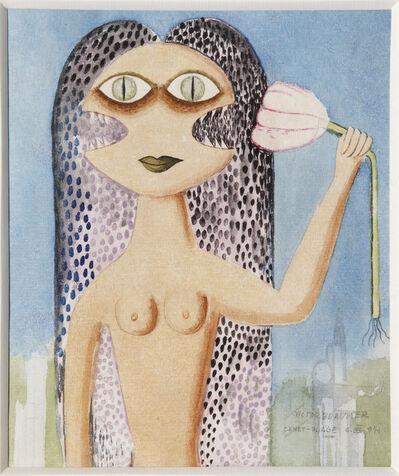 Victor Brauner, 'FEMME AVEC FLEUR', 1941