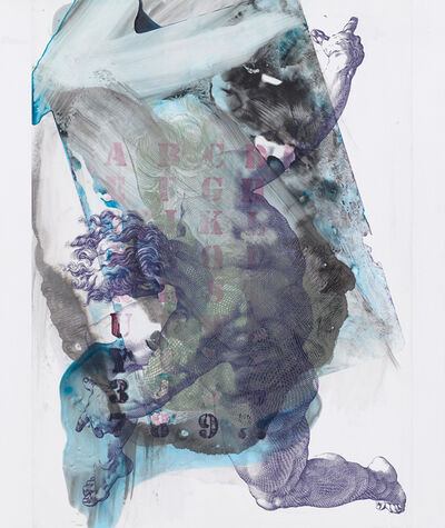 Pia Fries, 'corpus transludi A5', 2017