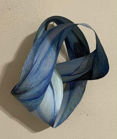 Gillian Bradshaw-Smith, 'Blue Swoop', 2020