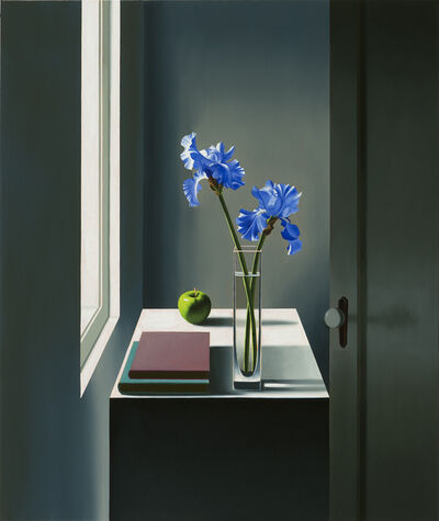 Bruce Cohen, 'Interior with Iris and Apple', 2017