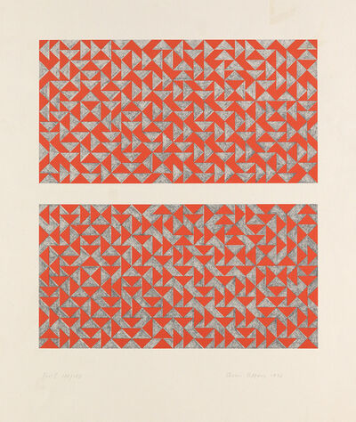 Anni Albers, 'Fox I', 1972